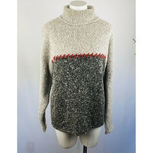 Woolrich Sweater Wool Mohair Turtleneck Top